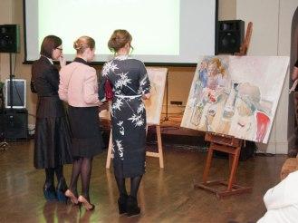 Все картины, выставленные на аукционы были предоставлены Pecherskiy Gallery