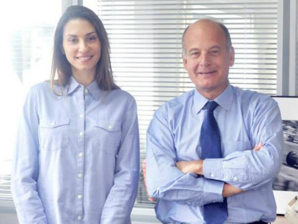 «Ситроен Россия» Жан Луи Шамла и PR-директор OMD MD | PHD Group Евгения Дубовская